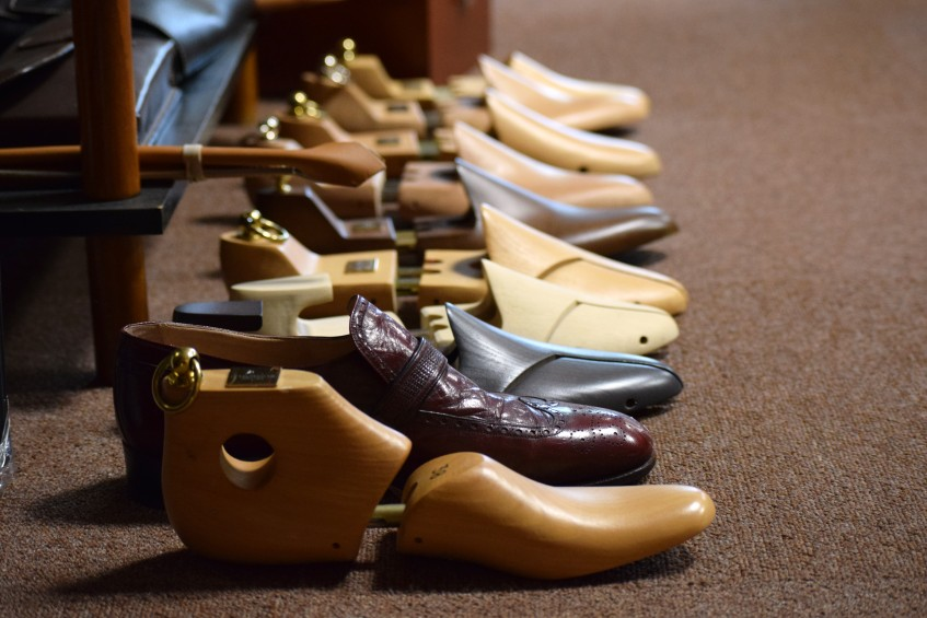 Shoe trees made by Perfecta for Avel