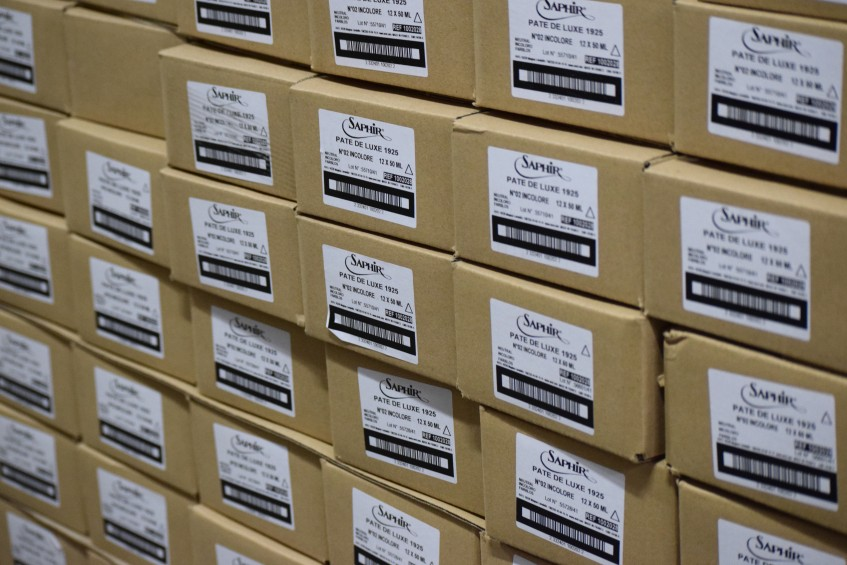 A snapshot from the well-stocked warehouse
