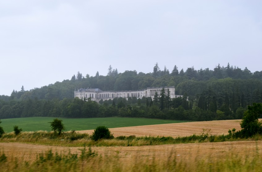 Château de la Mercerie as seen from the road