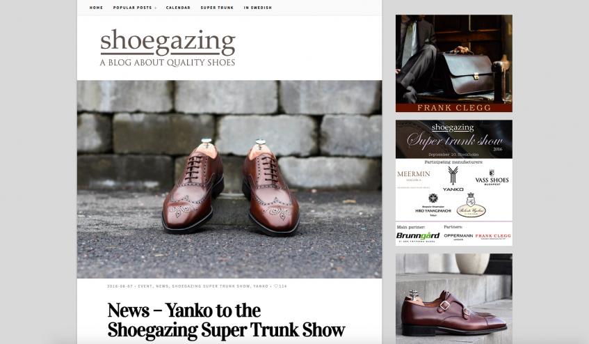The English Edition of Shoegazing.se