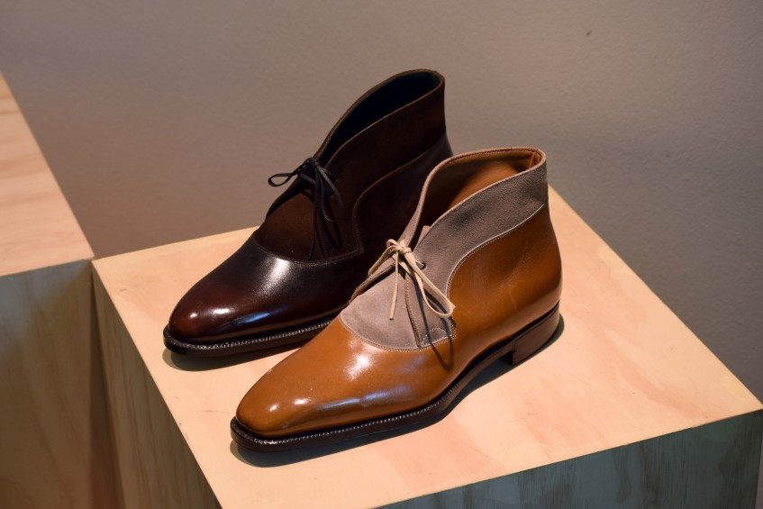 Decon Chukka boots from the Savile Row Meets Rock 'n' Roll Collection