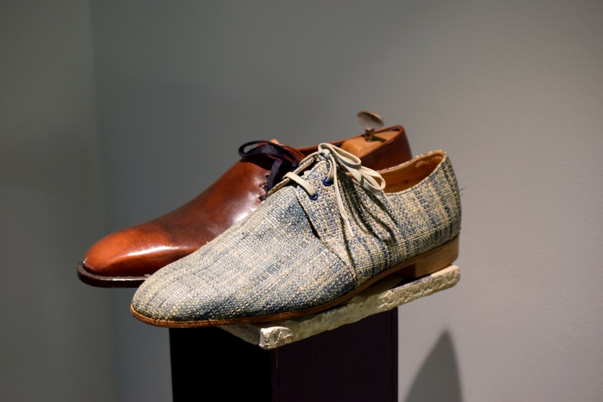 The Raffia derby, part of the Wabi Sabi Collection