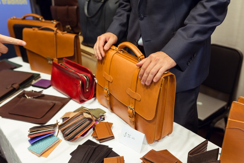 Briefcases and leather goods by Frank Clegg, USA