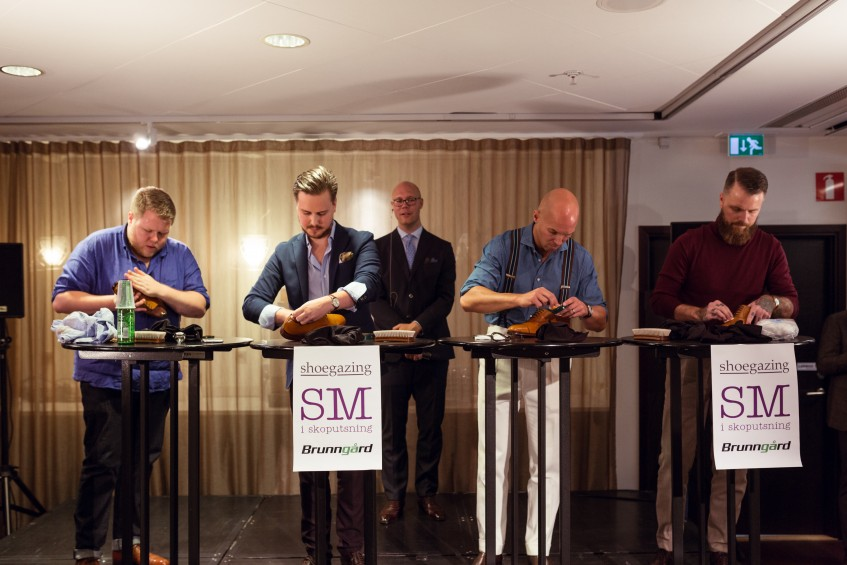 Competitors from left to right: Tor Jonsson, Jacob Mattson, Anders Ericson and Michael Håkansson