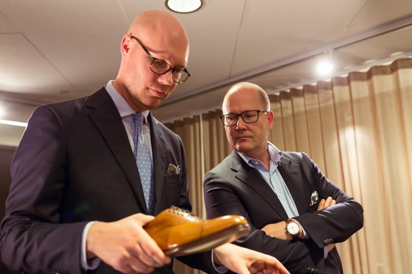 Jesper Ingevaldsson and co-arranger Roland Olsson