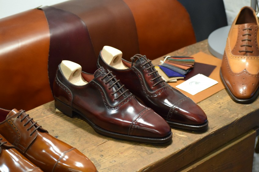 The ready-to-wear Adelaide oxford in Rioja calf - Ramon offers a two year warranty and free maintenance during this period for all shoe purchases