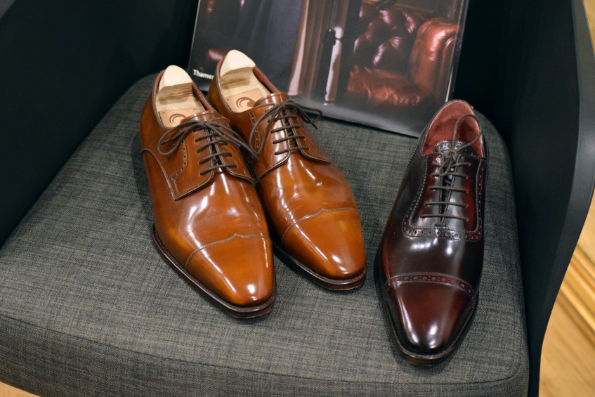 Beautiful bespoke pointed cap derby and adelaide oxford - the bespoke service starts at 1800 €