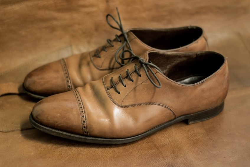 Well cared for uppers generally far outlast the soles, and can benefit from a factory refurbishment where the shoes are rebuilt on the original last, giving them more of their original shape back