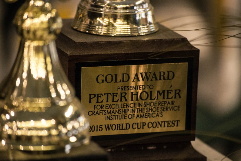 2015 World Cup Gold Award taken home by Peter Holmér