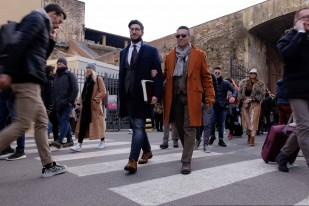 Pitti Uomo 91: The People