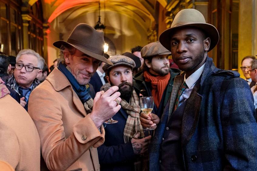 Gui Bo of Men Need More Style, Jared Acquaro of A Poor Man's Millions blog, Erik Mannby of E-F-V Clothing, Tatenda Phiri