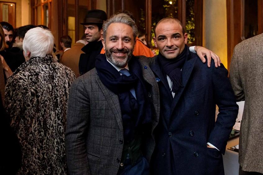 Tommaso Melani of Stefano Bemer, Salvatore Ambrosi of Ambrosi Napoli