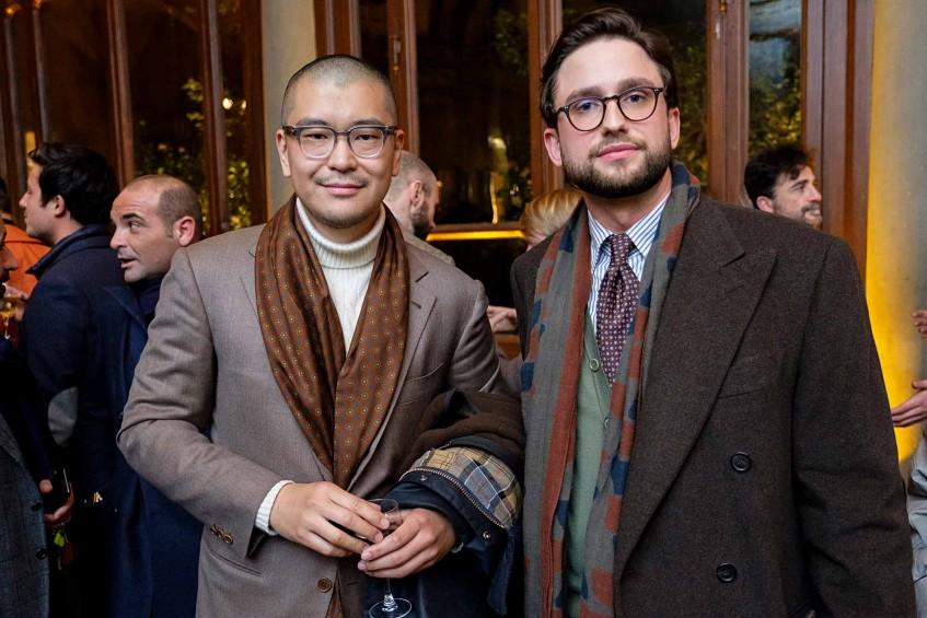 George Wang of Brio Beijing, Hannes Rebas