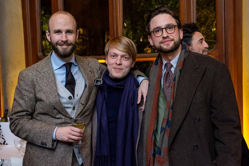 Simon Crompton of Permanent Style, Jean-Baptiste Rosseeuw of Lavabre Cadet, Hannes Rebas