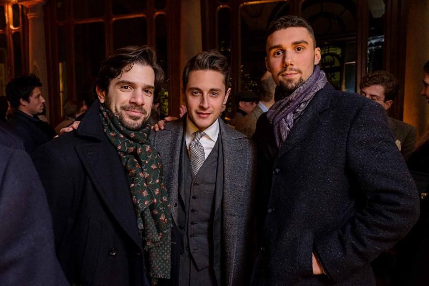 Salvatore Peter Ambrosino, Alessandro Pirounis, Alessandro Penko