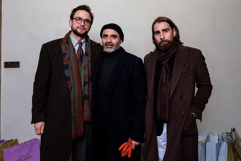 Hannes Rebas, Norman Vilalta and Fernando Nafría Ascolizaga of Norman Vilalta Shoemaker