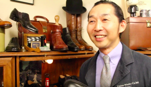 Video Tip: The Biggest Fan of Northamptonshire Shoes? by BBC Northampton