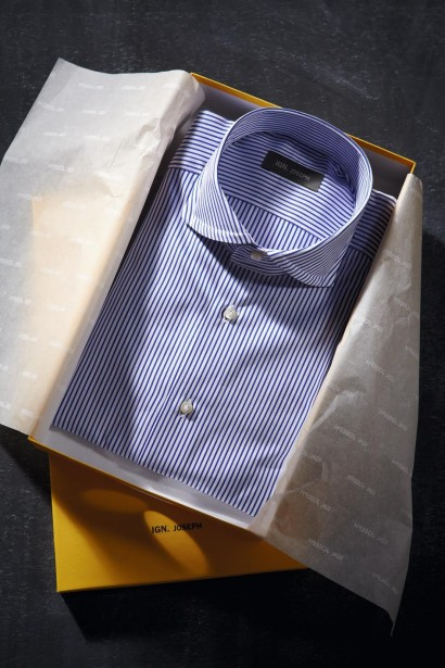 Ignatious Joseph is the founder and owner of luxury shirt brand Ign. Joseph.