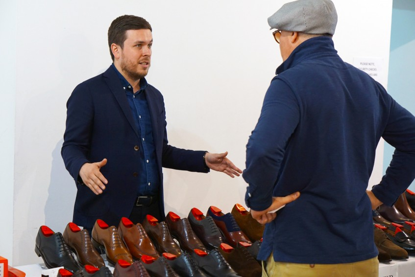 Justin FitzPatrick, the man behind The Shoe Snob Blog and J.FitzPatrick Footwear.