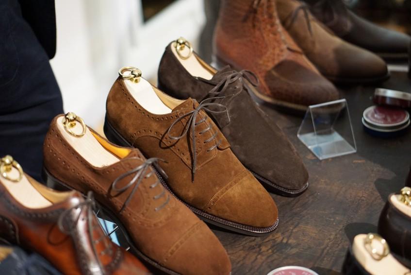 Suede beauties by Florentine shoemaker Stefano Bemer.
