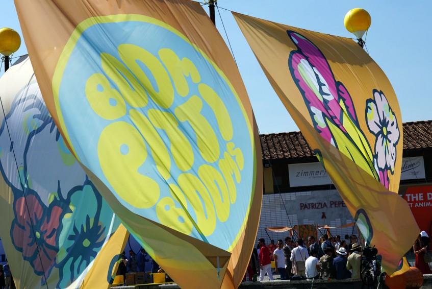 The theme of Pitti Uomo 92: Boom, Pitti Blooms!