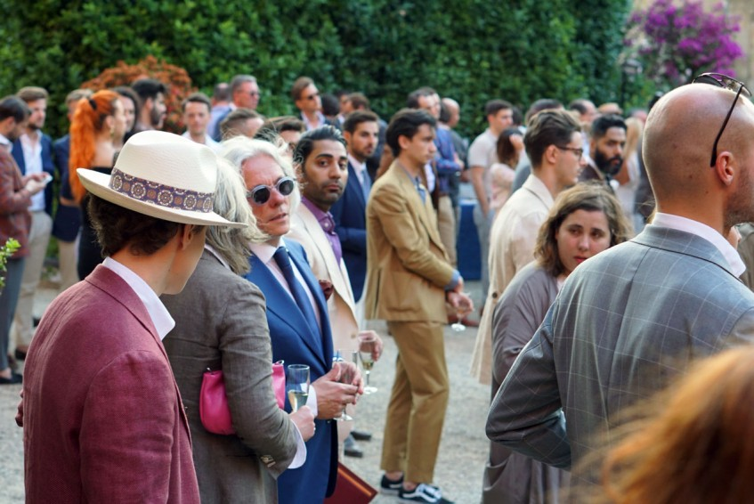 The Plaza Uomo party at Palazzo Budini Gattai, this year in collaboration with Kronaby Watches